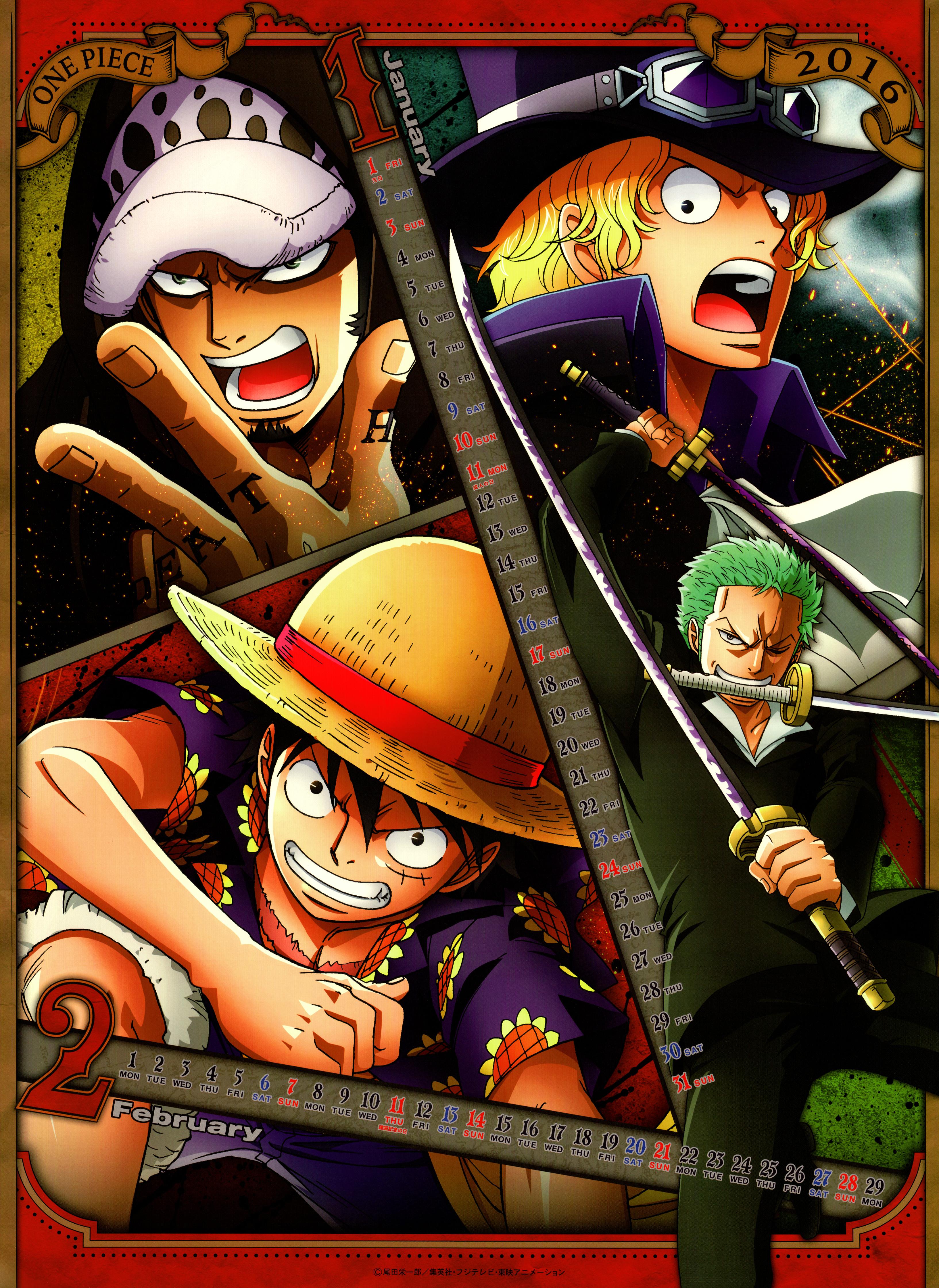 Birthday Calendar One Piece : One piece zerochan