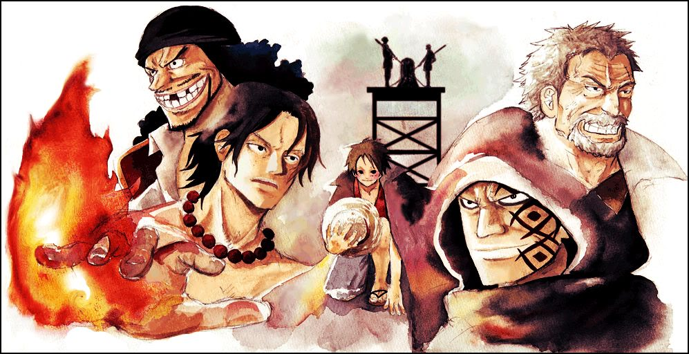 Luffy rencontre hancock