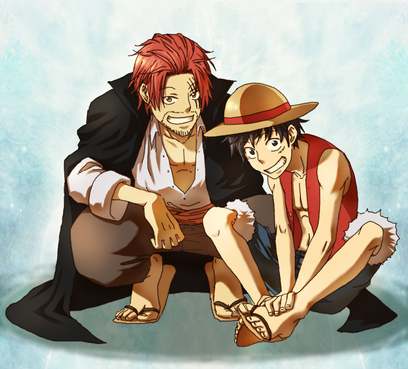 One Piece Luffy Dad Anime Top Wallpaper
