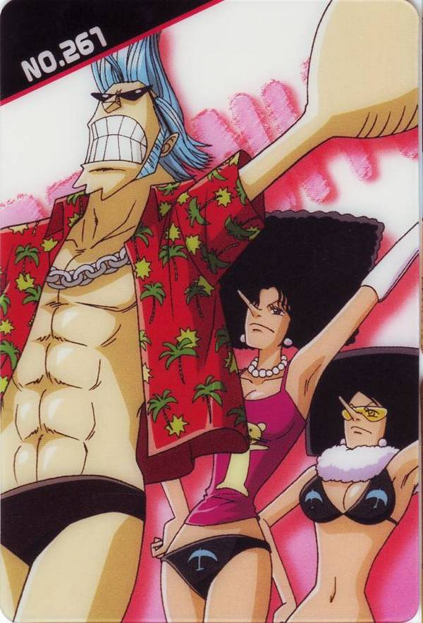 Tags: Anime, ONE PIECE, Franky, Mozz, Kiwi (ONE PIECE), Official Art, Water 7 Arc, Artist Request