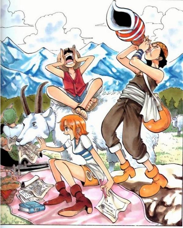 One Piece Monkey D Luffy Usopp Roronoa Zoro Nami: ONE PIECE/#43172