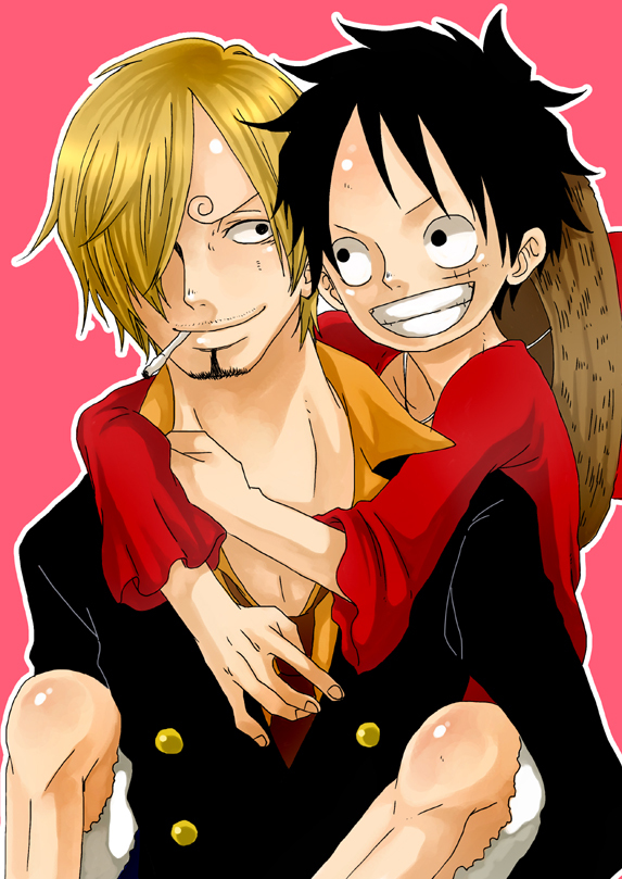 Tags: Anime, ONE PIECE, Sanji, Monkey D. Luffy, One Piece: Two Years Later, Straw Hat Pirates