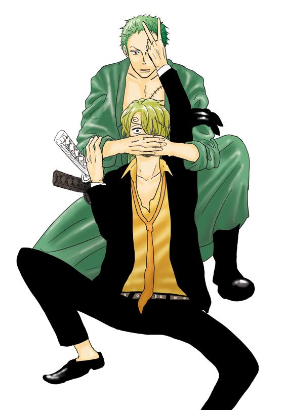 Tags: Anime, ONE PIECE, Sanji, Roronoa Zoro, One Piece: Two Years Later, ZoSan