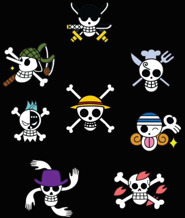 One Piece Skull And Crossbones Straw Hat Dagger Silverware Pictures