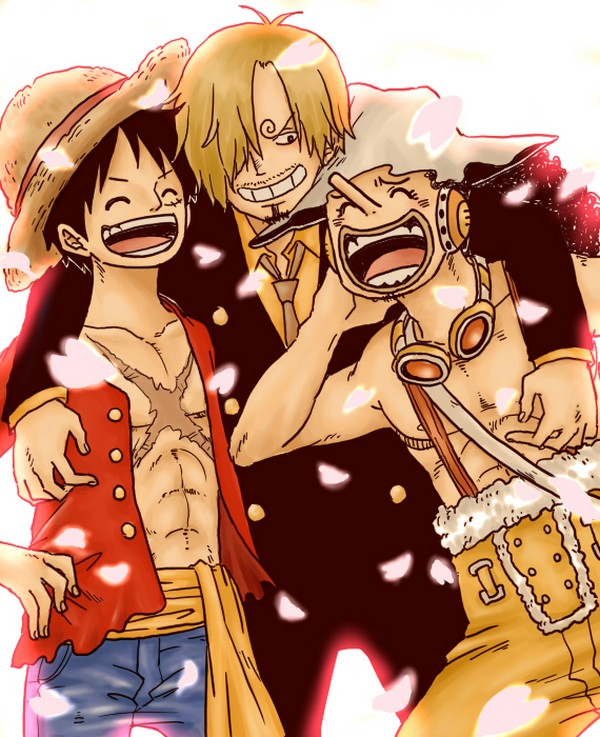 Tags: Anime, ONE PIECE, Usopp, Sanji, Monkey D. Luffy, One Piece: Two Years Later, Straw Hat Pirates