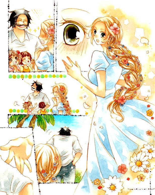 Tags: Anime, Xxequal, ONE PIECE, Portgas D. Rouge, Gol D. Roger, Pixiv, Comic, Fanart