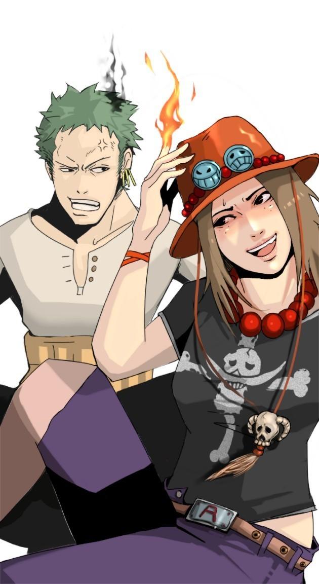 Tags: Anime, Pixiv Id 1378313, ONE PIECE, Portgas D. Ace, Roronoa Zoro, The Eleven Supernovas, Straw Hat Pirates