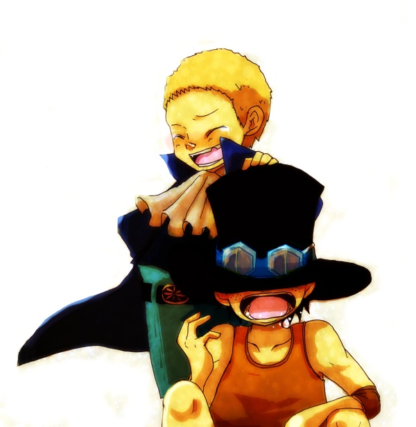 Tags: Anime, Pixiv Id 1590909, Sabo, Portgas D. Ace, Whitebeard Pirates