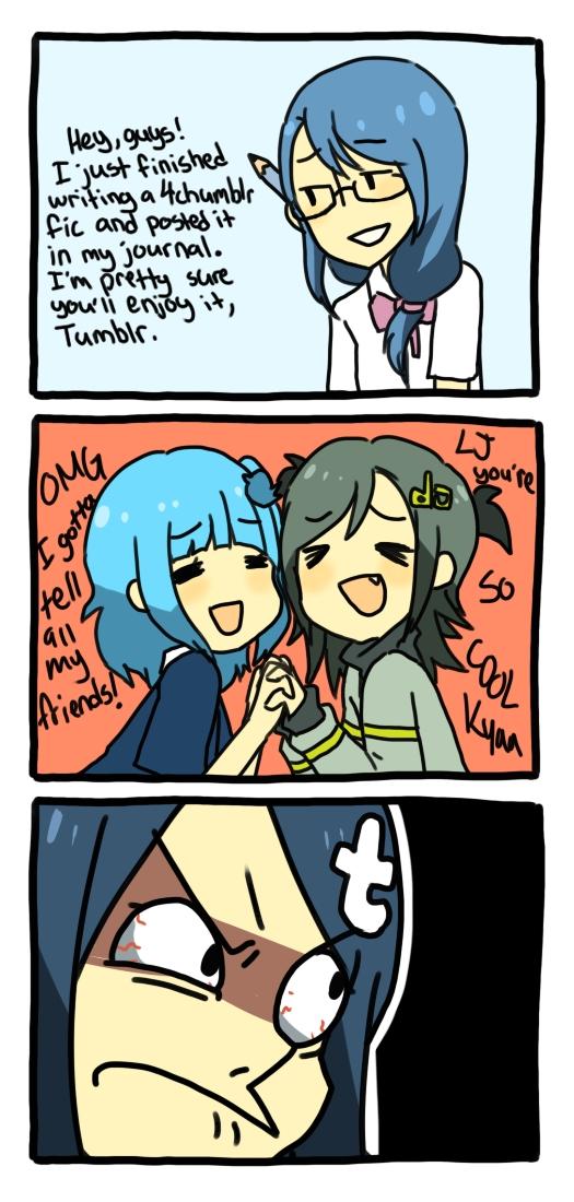 Tags: Anime, Jacket (Pixiv115077), Twitter-tan, deviantART-tan, Tumblr-tan, Livejournal-tan, Tumblr, deviantART, OS-tan, Livejournal