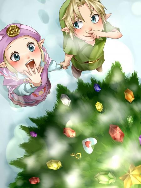 Tags: Anime, Legemd, Ocarina of Time, Zelda no Densetsu, Link, Zelda (Toki no Ocarina), Link (Toki no Ocarina)