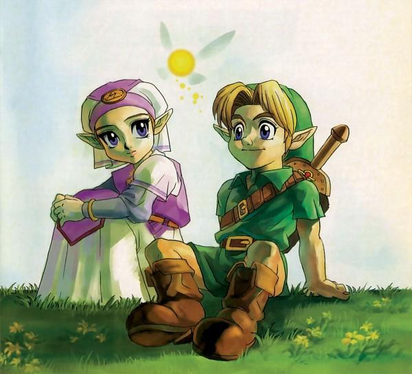 Tags: Anime, Nintendo, Ocarina of Time, Zelda no Densetsu, Zelda no Densetsu: Mujura no Kamen, Link, Young Link