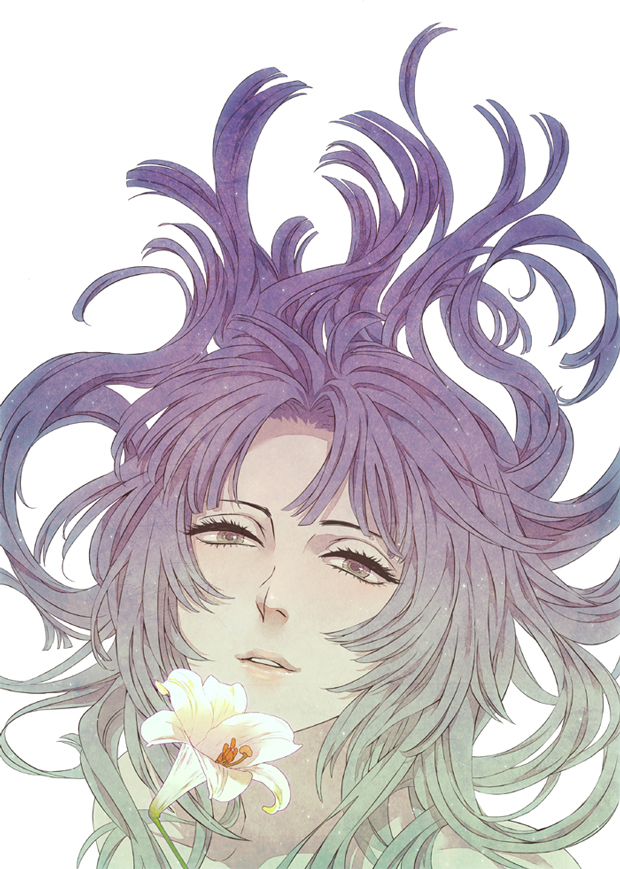Tags: Anime, Mocha (モチャ), Sengoku Basara, Oichi (Sengoku Basara), Pixiv, Mobile Wallpaper, Fanart From Pixiv, Fanart
