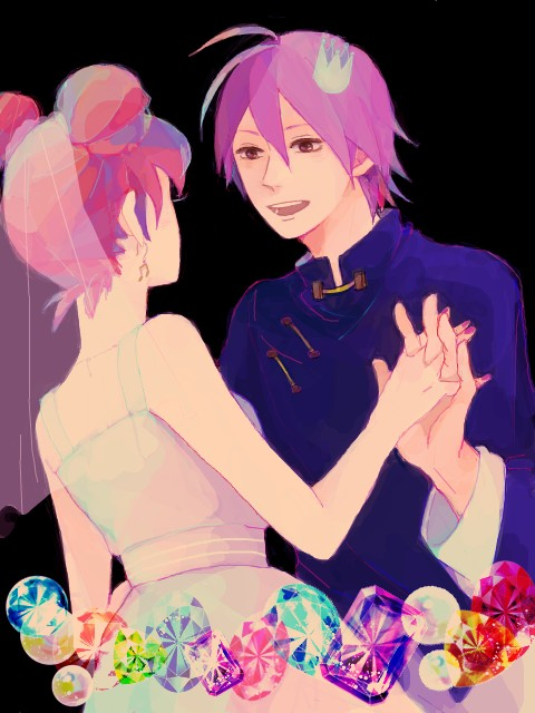 Tags: Anime, Pixiv Id 1809380, Ojamajo DoReMi 16, Ojamajo DoReMi, Harukaze Doremi, Akatsuki (Ojamajo DoReMi), Fanart, FLAT 4