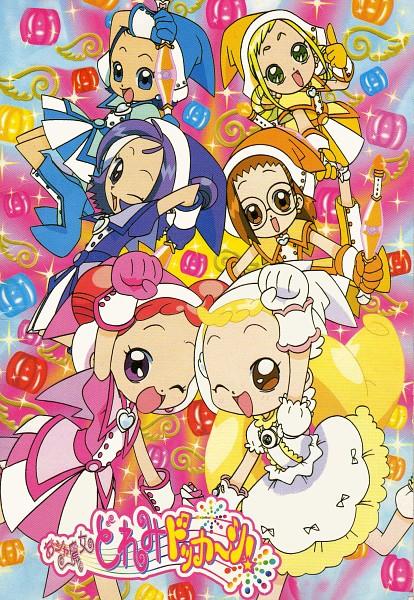 Tags: Anime, Pointing, Witch, Ojamajo DoReMi, Harukaze Doremi, Senoo Aiko, Fujiwara Hazuki