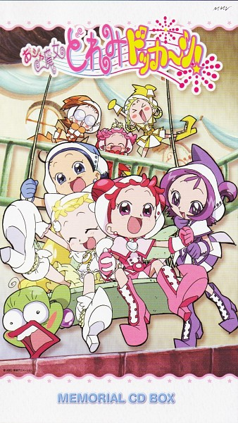 Tags: Anime, Witch, Ojamajo DoReMi, Harukaze Doremi, Senoo Aiko, Fujiwara Hazuki, Segawa Onpu