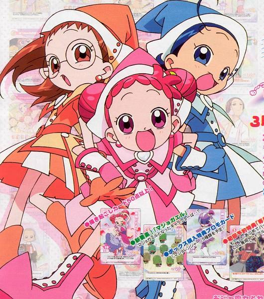 Tags: Anime, Witch, Ojamajo DoReMi, Harukaze Doremi, Senoo Aiko, Fujiwara Hazuki, Witch Hat