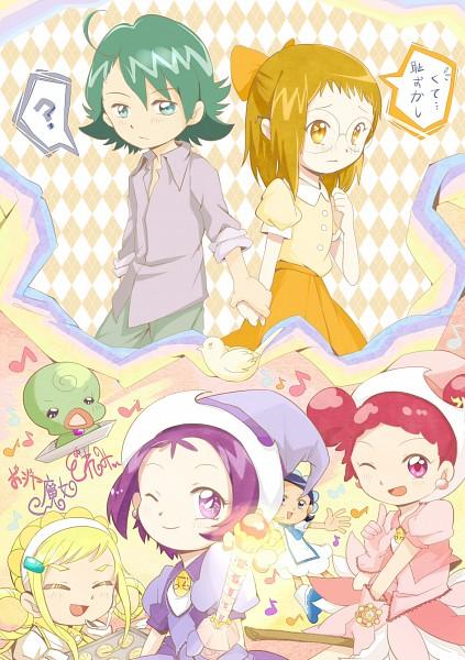 Tags: Anime, Ojamajo DoReMi, Harukaze Doremi, Senoo Aiko, Fujiwara Hazuki, Segawa Onpu, Asuka Momoko