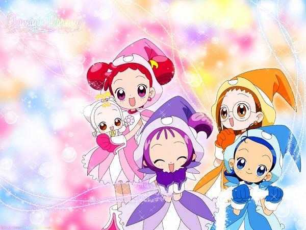 Tags: Anime, Ojamajo DoReMi, Harukaze Doremi, Senoo Aiko, Fujiwara Hazuki, 1600x1200 Wallpaper, Makihatayama Hana