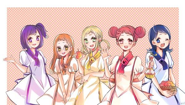 Tags: Anime, Ojamajo DoReMi, Harukaze Doremi, Senoo Aiko, Fujiwara Hazuki, Segawa Onpu, Spotted