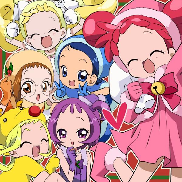 Tags: Anime, Christmas, Ojamajo DoReMi, Harukaze Doremi, Senoo Aiko, Fujiwara Hazuki, Segawa Onpu