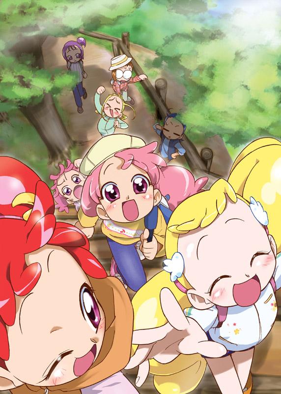 Tags: Anime, T-hiko, Ojamajo DoReMi, Segawa Onpu, Harukaze Fami, Fujiwara Hazuki, Makihatayama Hana, Senoo Aiko, Harukaze Pop, Harukaze Doremi, Asuka Momoko, Fanart, Magical Doremi