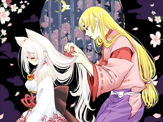 Tags: Anime, Mochiya Marosuke, Okami, Amaterasu, Ushiwakamaru, Fanart