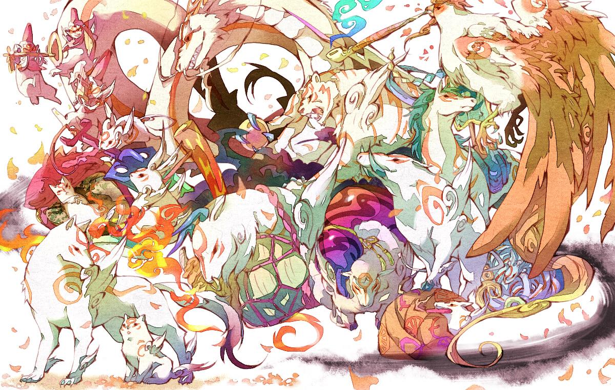 Tachigami Okami Zerochan Anime Image Board