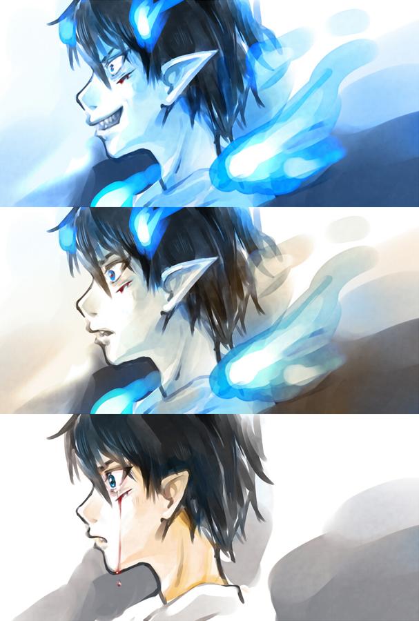Resultado de imagen para blue exorcist transformation