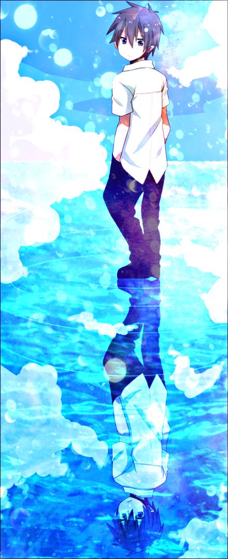 Аниме синий экзорцист рин картинки 3
