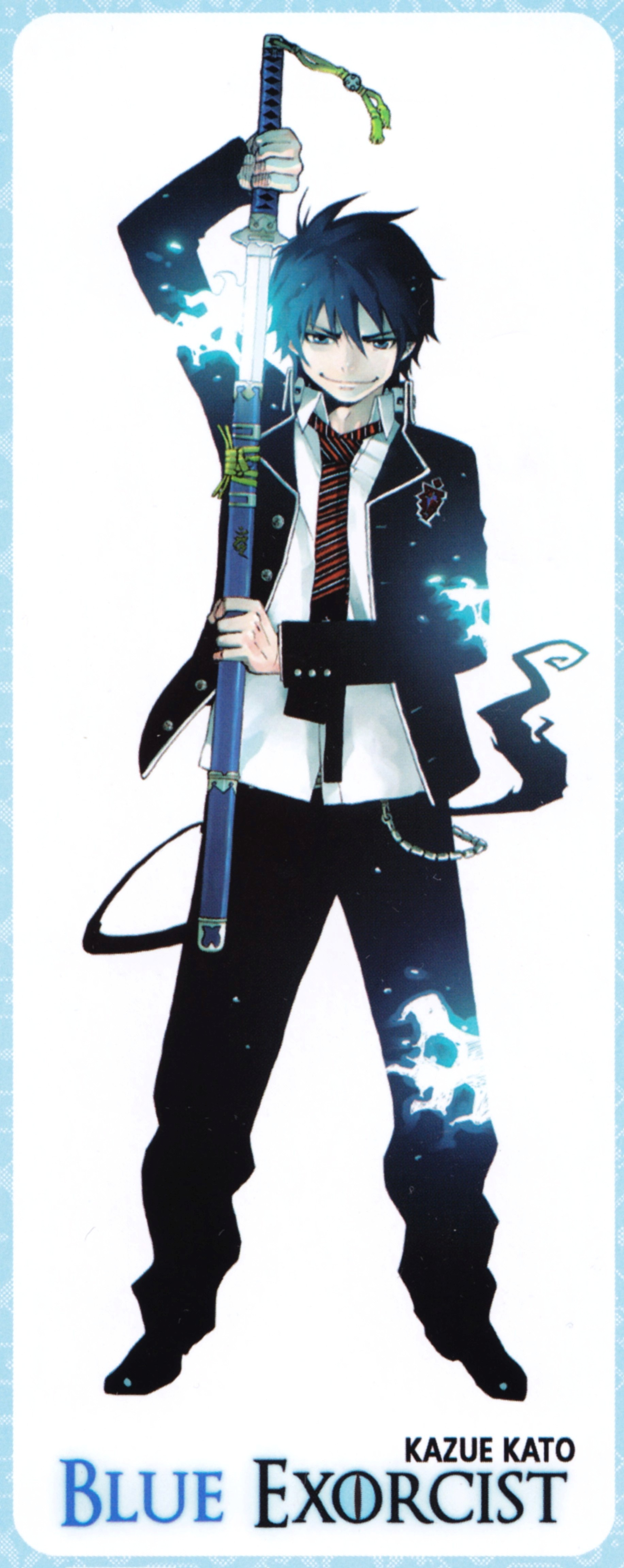 blue exorcist rin okumura - photo #17
