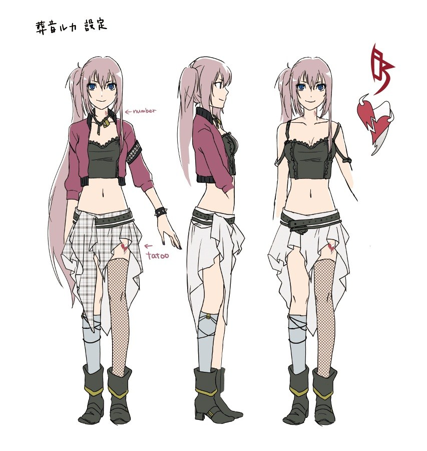 Character Sheet Happy Zerochan Anime Image Board