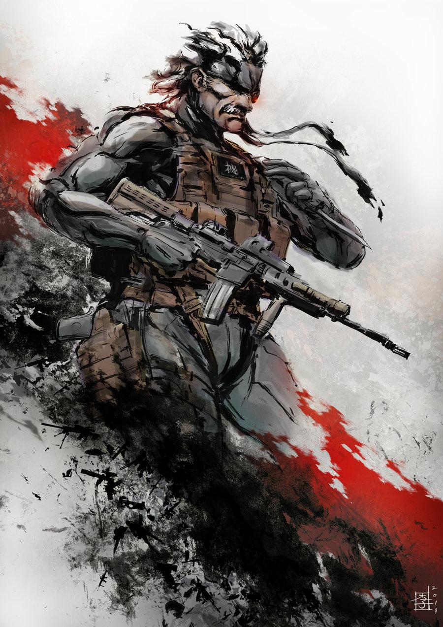 Metal Gear Solid Mobile Wallpaper Zerochan Anime Image Board