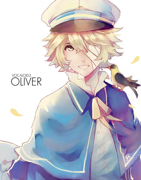 Tags: Anime, dreamocean, VOCALOID, James (Bird), Oliver (VOCALOID), Bird on Shoulder, Pixiv
