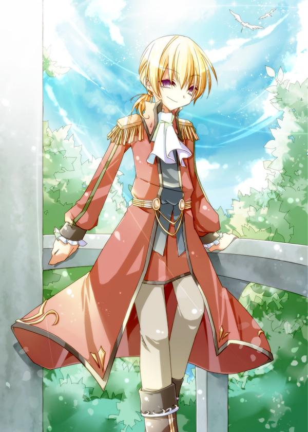 Tags: Anime, Falcom, Eiyuu Densetsu VI: Sora no Kiseki, Olivier Lenheim, Pixiv, Fanart