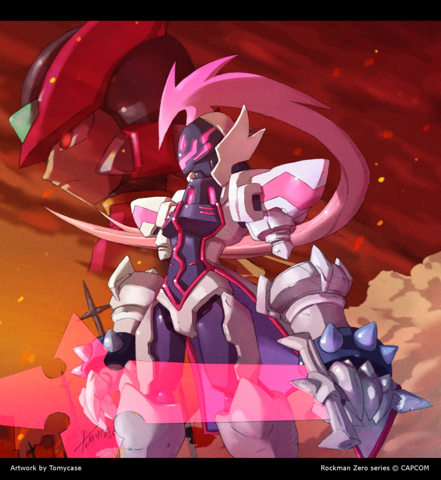 omega megaman zero rockman zero zerochan anime image board