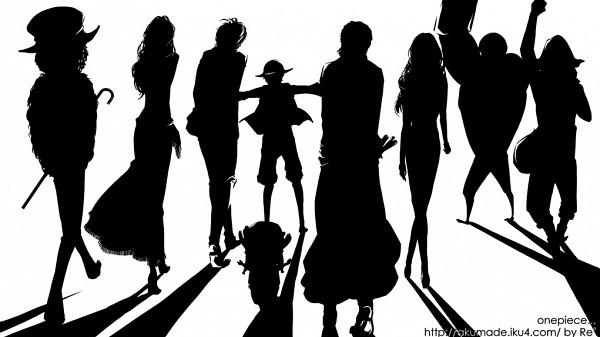 画像 【one Piece】シルエット画像・壁紙まとめ 【ワンピース】 Naver まとめ