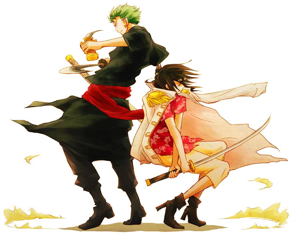 Zoro And Tashigi One Piece: Two Years L...