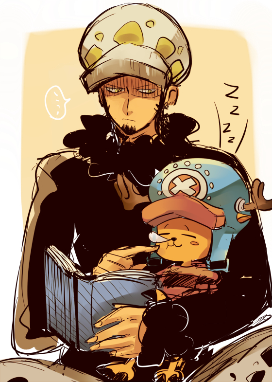 Tags: Anime, Pixiv Id 366396, ONE PIECE, Tony Tony Chopper, Trafalgar Law, Zzz, Fanart, Pixiv, Fanart From Pixiv, PNG Conversion, Sketch, Mobile Wallpaper, One Piece: Two Years Later