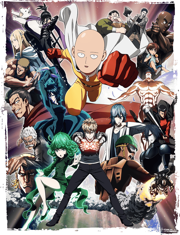 One Punch Man Zerochan Anime Image Board