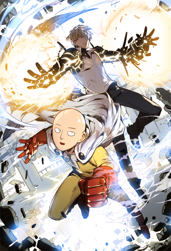 Saitama One Punch Man Mobile Wallpaper Zerochan Anime Image Board
