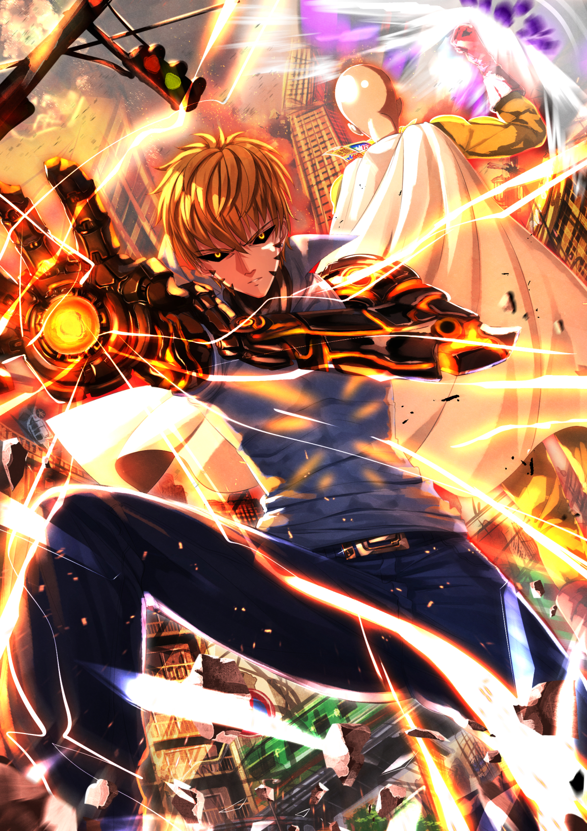 Fantastic Wallpaper Android One Punch Man - One  HD_3727      .jpg