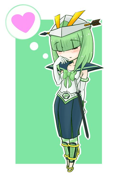 Tags: Anime, Pixiv Id 478432, Onegai! Ranking, Onegai Green, Fanart From Pixiv, Pixiv, Fanart
