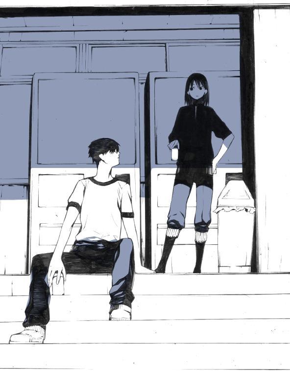 Tags: Anime, Onigunsou, Morning, Trash, Pixiv, Original