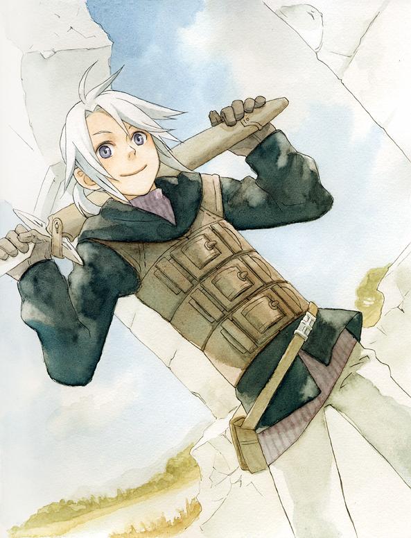 Tags: Anime, SQUARE ENIX, Final Fantasy III, Luneth, Onion Knight