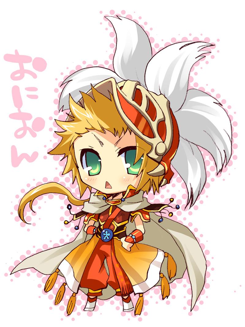 Tags: Anime, SQUARE ENIX, Final Fantasy III, Onion Knight
