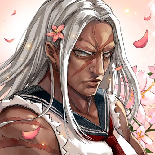 Tags: Anime, Momoko (Momopoco), Danganronpa, Oogami Sakura, Forehead, Fanart From Pixiv, Pixiv, PNG Conversion, Fanart