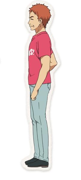 Tags: Anime, Horiguchi Yukiko, Kyoto Animation, Tamako Market, Ooji Gohei, Official Character Information, Official Art