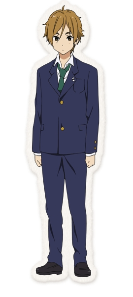 Tags: Anime, Horiguchi Yukiko, Kyoto Animation, Tamako Market, Ooji Mochizou, Official Art, Official Character Information