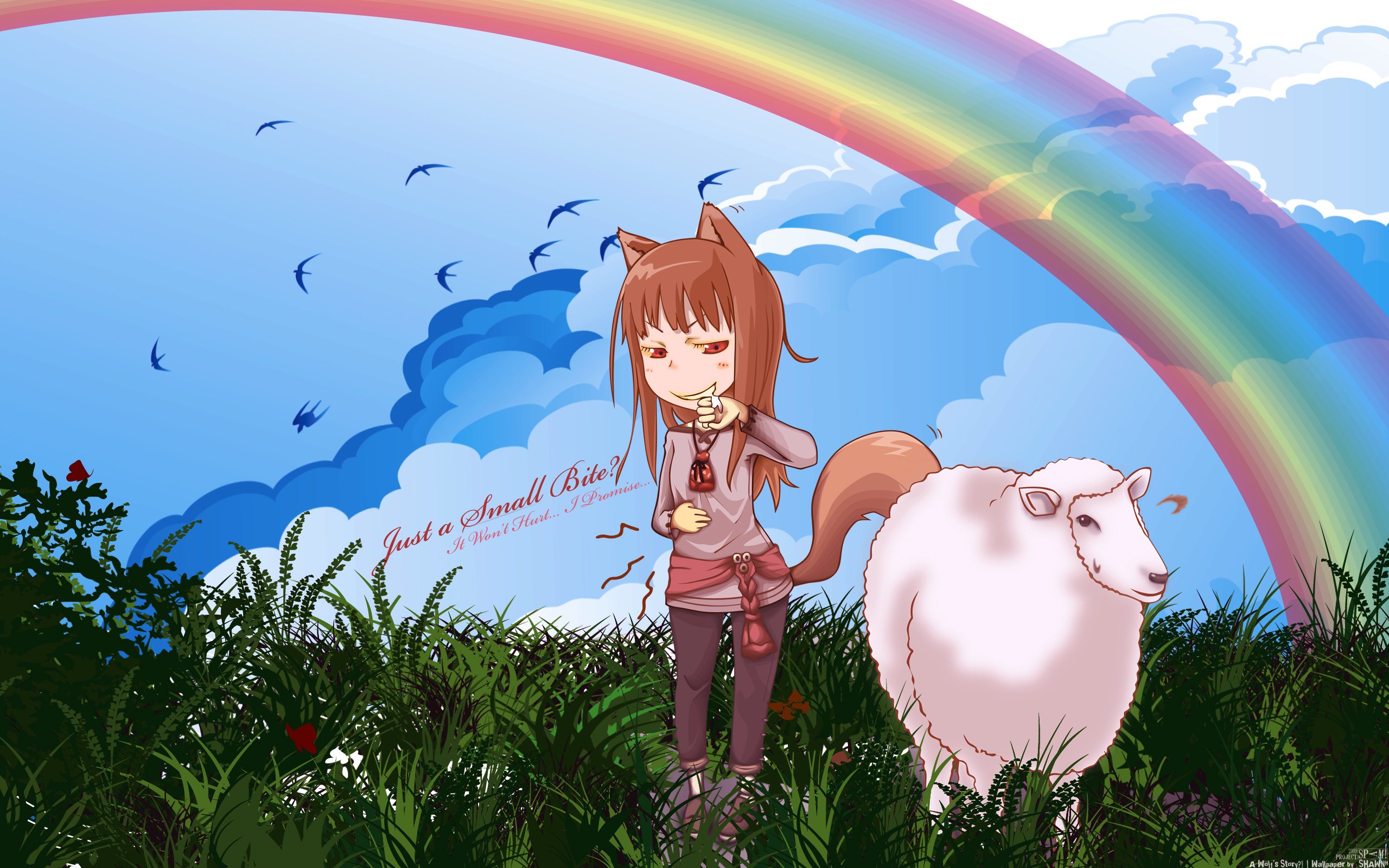 Ookami To Koushinryou Spice And Wolf Hd Wallpaper 1353490