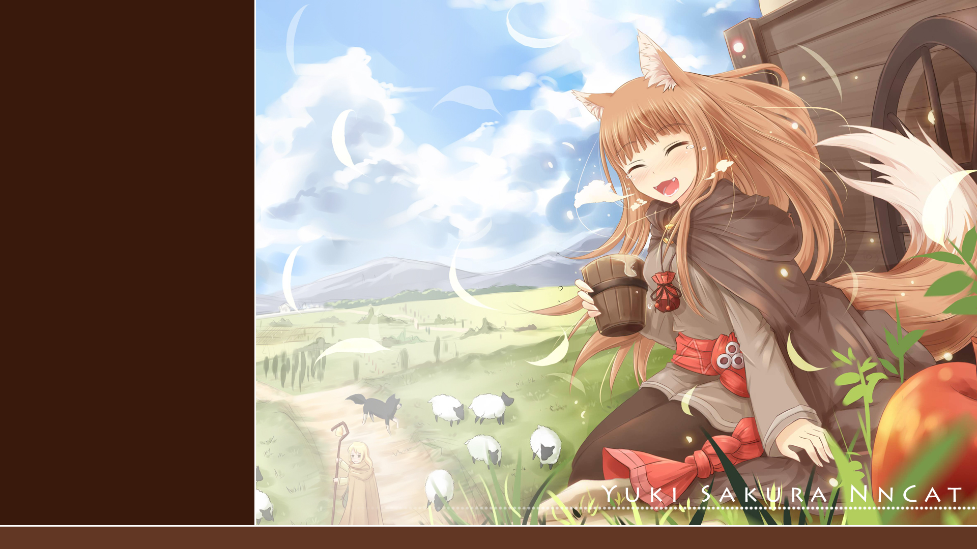 Ookami To Koushinryou Spice And Wolf Hd Wallpaper 1611732
